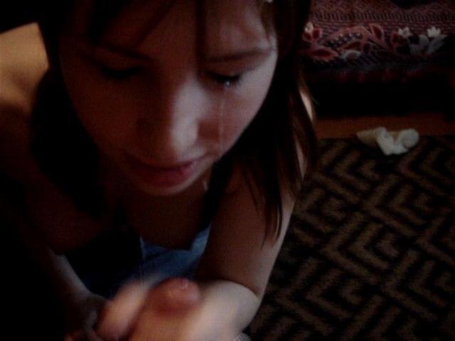 Минетчица в чулках добилась от любовника спермы на лицо - секс порно фото